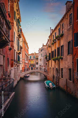 Venice Canal shot on long exposure