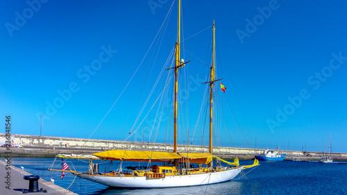 Barco en Islas Canarias