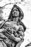 Statue of Elizabeth of Hungary in Bratislava