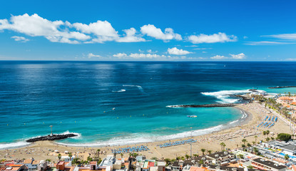Las Vistas beach on Tenerife