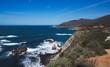 Coastline of Central California