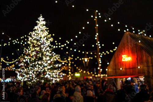 Foto Murales Christmas in Zurich