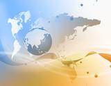 世界地図 世界 地図 グローバル ビジネス背景 ビジネス