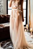 nice bride indoor