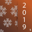 New Year background with geometric pattern. Christmas card. Winter background. Eps10 Vector illustration - 236921782