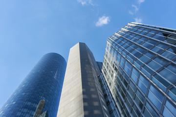 Moderne Wolkenkratzer in Frankfurt am Main