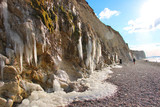stalactites au cap blanc nez © stephane