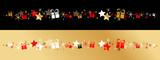 Frise étoiles + cadeaux - 236952114