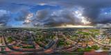 Worms Luftbild VR Panorama 360/180