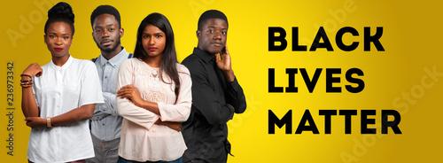 Czarny żyje materią