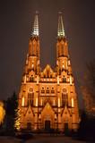 Poland church in New Year