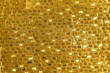Quadro Shiny yellow leaf gold foil texture background
