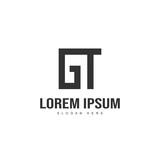 Initial letter logo design. Minimal letter logo template