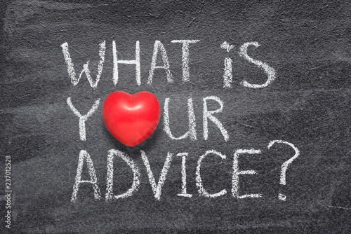 what your advice heart