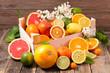 Leinwanddruck Bild - assorted citrus fruit