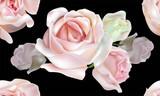Rose seamless pattern