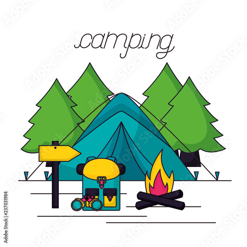 camping summer related - 237031984