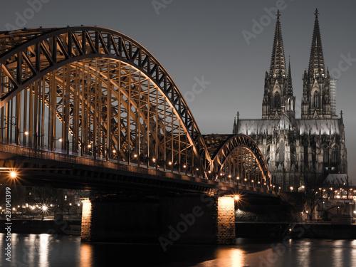 Plakat Kölner Dom