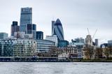 London skyline river