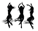 group of  girls  dancing and jumping - 237052705