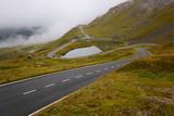 Beautiful drive thru the Austrian Alps - 237083369