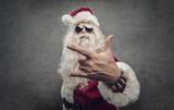 Cool rock Santa Claus - 237084581