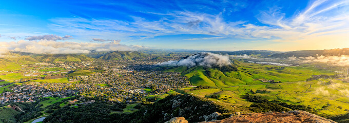 Spring City View oF San Luis Obispo, CA © Mark