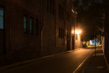 Darkly lit street in Sydney's Surry Hills © Tim