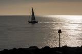 Sailing Ship in Sunset