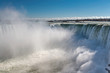 Leinwanddruck Bild - Horseshoe Fall, Niagara Falls, Ontario, Canada