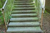 Alte marode Außentreppe