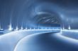 Futuristic modern tunnel - 237141330