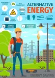 Alternative eco energy and electricity power - 237154726