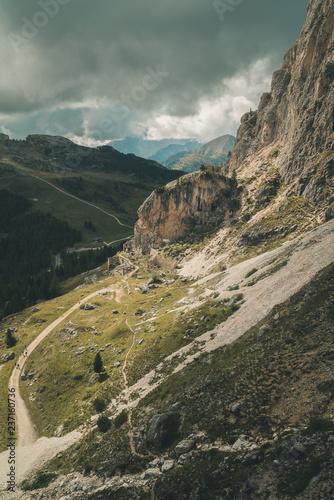 Leinwandbild Motiv Falzarego-Pass Dolomiten 2