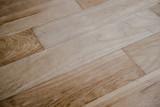 Hardwood parquet floor from above - 237194735