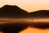 Atardecer en el mar cantabrico. Cantabria, ESpaña