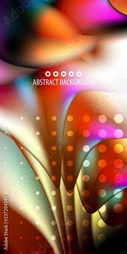 Geometryczny kolorowy abstrakcjonistyczny tło