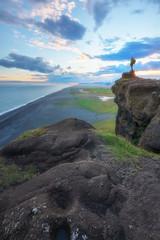Dyrhólaey und der schwarze Strand von Reynisfjara © Joseph Maniquet