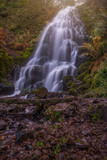 Fairy Falls in the Columbia River Gorge post Eagle Creek Fire