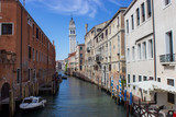 Typical water street in Venice