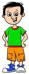 funny boy character cartoon illustration © Igor Zakowski
