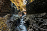 Watkins Glen gorge in Autumn/fall 5