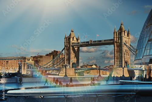 Obraz na płótnie London Tower Bridge