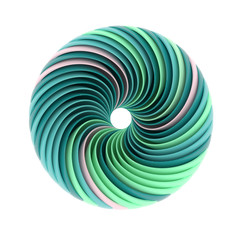 abstract spiral shape