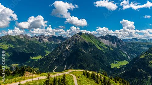 Walmendinger Horn Turystyka górska Wycieczki górskie w Alpach