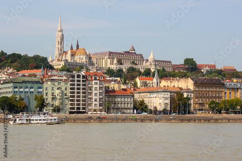Skyline Aussicht in Budapest