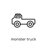 Monster truck icon from Transportation collection.