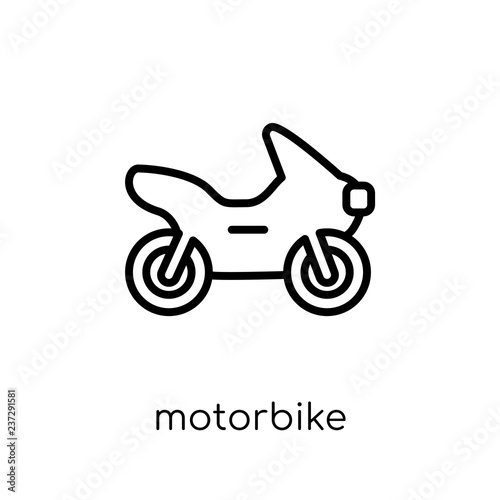 Motorbike icon from collection.