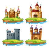 Set of different castle - 237310165