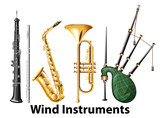Set of wind instruments - 237311311